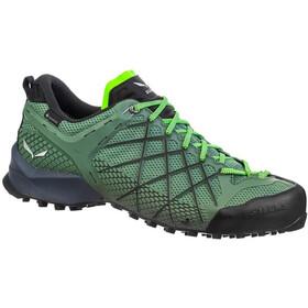 SALEWA Wildfire GTX Shoes Herre myrtle/fluo green